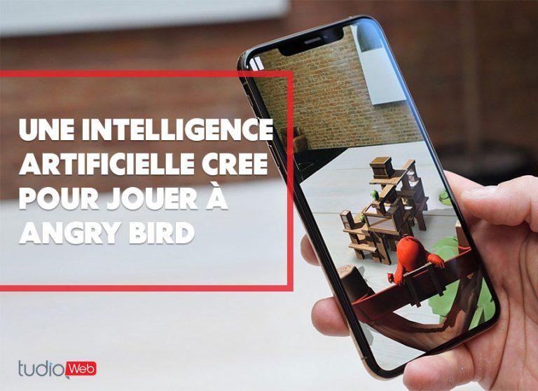 Une intelligence artifcielle créée pour jouer à Angry Bird
